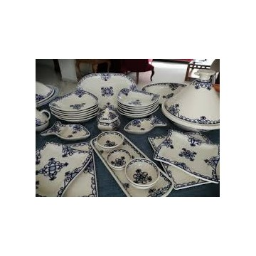 service table en poterie